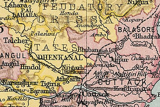 Dhenkanal State - Dhenkanal State in the Imperial Gazetteer of India
