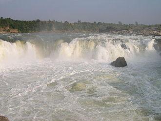Tourism in Madhya Pradesh - Bhedaghat Dhuandhar Falls, Jabalpur