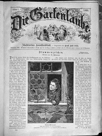 Die Gartenlaube - Image: Die Gartenlaube (1890) 001
