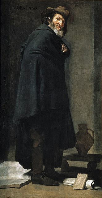 Menippus - Menippus, by Velázquez