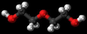 Diethylene glycol - Image: Diethylene glycol 3D ball