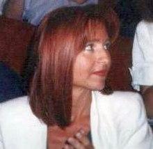 Lilli Gruber nel 1992