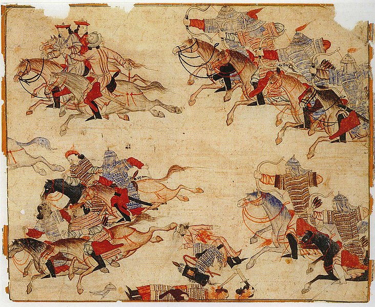 mounted warriors (14th century)