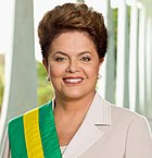 Dilma Rousseff - foto oficial 2011-01-09 (cropped)