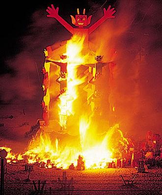 Badalona - Cremada del Dimoni