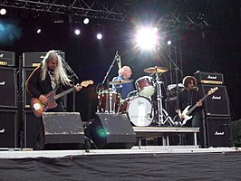 Dinosaur Jr. in Stockholm, Sweden in June 2008