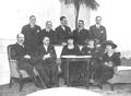 Diputados tradicionalistas con Beatriz de Borbón.png