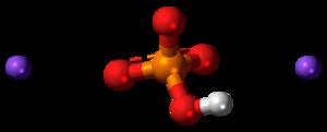 Disodium phosphate - Image: Disodium phosphate 3D ball