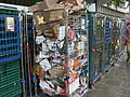 Disposed cardboard outside Tesco Highbury Supermarket, London N7.jpg