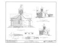 District School Number 17, West Lake Road, Skaneateles, Onondaga County, NY HABS NY,34-SKA.V,3- (sheet 2 of 4).png