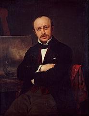 Portrait of the painter Anton Melbye