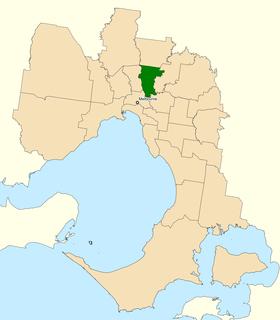 Division of Cooper Australian federal electoral division