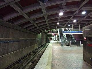 GWCC/CNN Center station MARTA rail station
