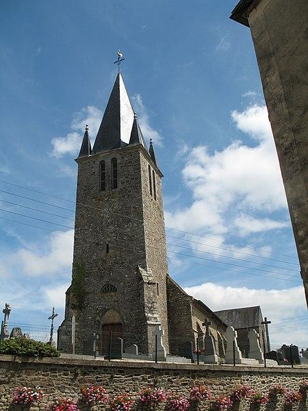 Church of Dompierre-du-Chemin.