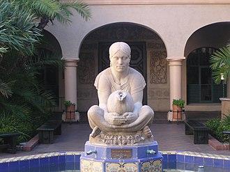 Donal Hord - Woman of Tehuantepec, 1935, Balboa Park, San Diego