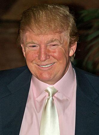 2000 Reform Party presidential primaries - Image: Donald Trump announcing latest David Blaine feat 3 alt