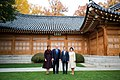 Donald and Melania Trump with Moon Jae-in and Mrs. Kim Jung-sook 2017.jpg