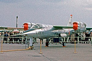 EWR VJ 101 - The X-1 Prototype exhibited at the 1964 Hanover Air Show