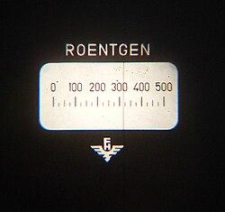 meaning of dosimeter