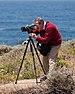 Douglas Osheroff photographing along CA-1 May 2011 003.jpg
