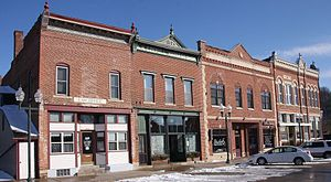 Galesville, Wisconsin - Downtown Historic District in 2017