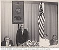 Dr. Babasaheb Ambedkar is addressing a seminar organized by the National Sports Club of India, New Delhi and Columbia University, USA on 30 October 1954.jpg
