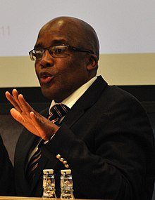 Dr Pakishe Aaron Motsoaledi, Minister of Health, South Africa (cropped).jpg