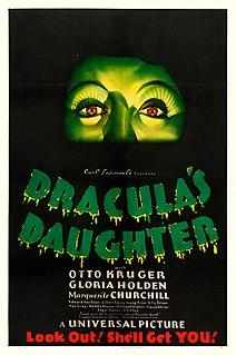 <i>Draculas Daughter</i> 1936 film by Lambert Hillyer