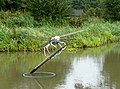Dragonfly sculpture at Hatton Locks, Warwickshire - geograph.org.uk - 963114.jpg
