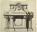 Drawing, Elevation of a Wall Monument, 1780 (CH 18171283).jpg