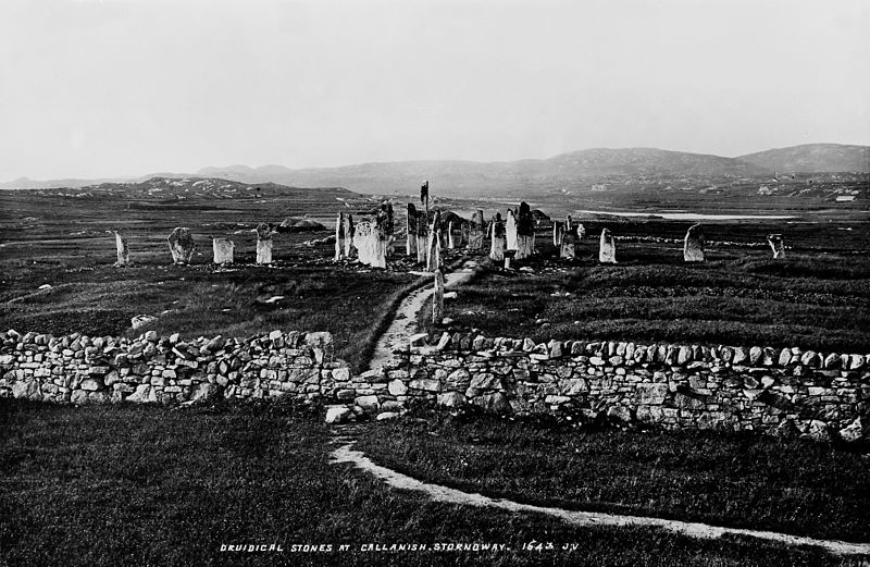 File:Druidic stones at Callanish Wellcome M0006011.jpg