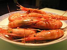 Drunken shrimp - Wikipedia