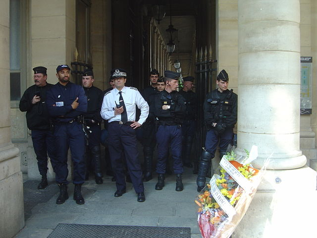 Police by David Monniaux [CC BY-SA 3.0 (http://creativecommons.org/licenses/by-sa/3.0/)], from Wikimedia Commons