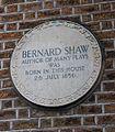 Dublin Portobello 33 Synge Street George Bernard Shaw Birthplace Plaque.JPG