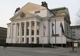 Deutsche Oper am Rhein opera company with houses in Düsseldorf an Duisburg, Germany