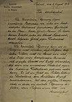 Duits ultimatum aan België 2-8-1914 Koninklijk Museum van het Leger en de Krijgsgeschiedenis BXL 26-4-2014.jpg
