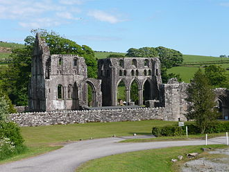 History of Christianity in Scotland - Dundrennan Abbey, one of the new continental monasteries founded in the 12th century.