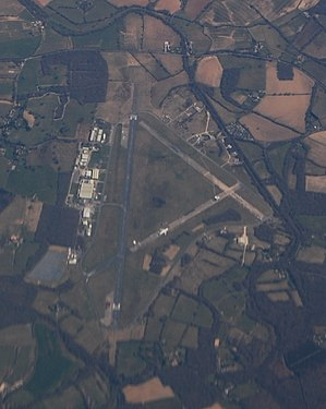 Dunsfold Aerodrome - Dunsfold Aerodrome from the air, in April 2013