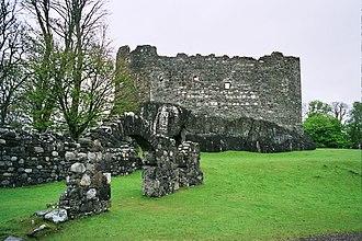 Dunstaffnage Castle - The south facade of Dunstaffnage Castle