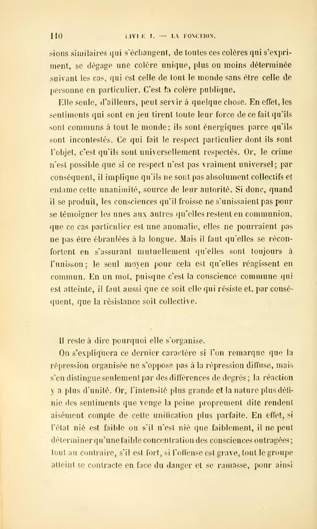 Page Durkheim De La Division Du Travail Social Djvu 132 Wikisource