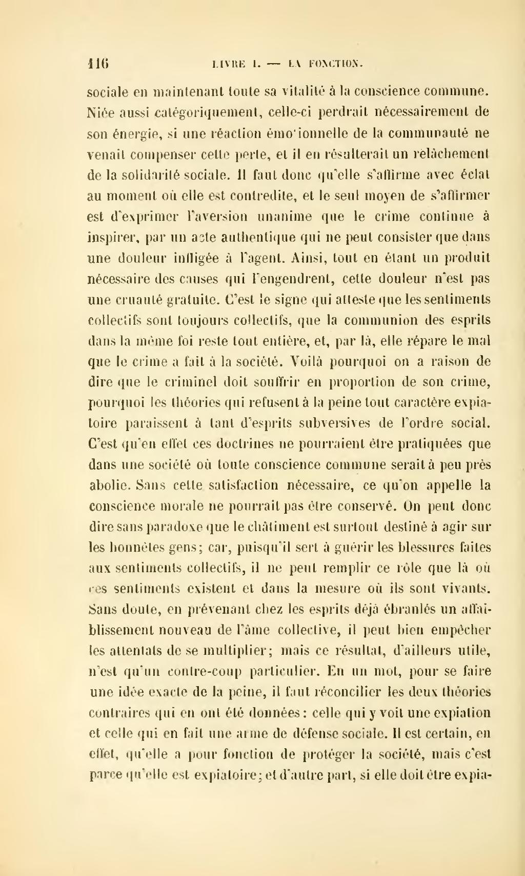 Page Durkheim De La Division Du Travail Social Djvu 138 Wikisource