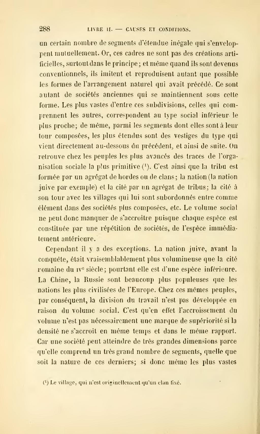 Page Durkheim De La Division Du Travail Social Djvu 310 Wikisource