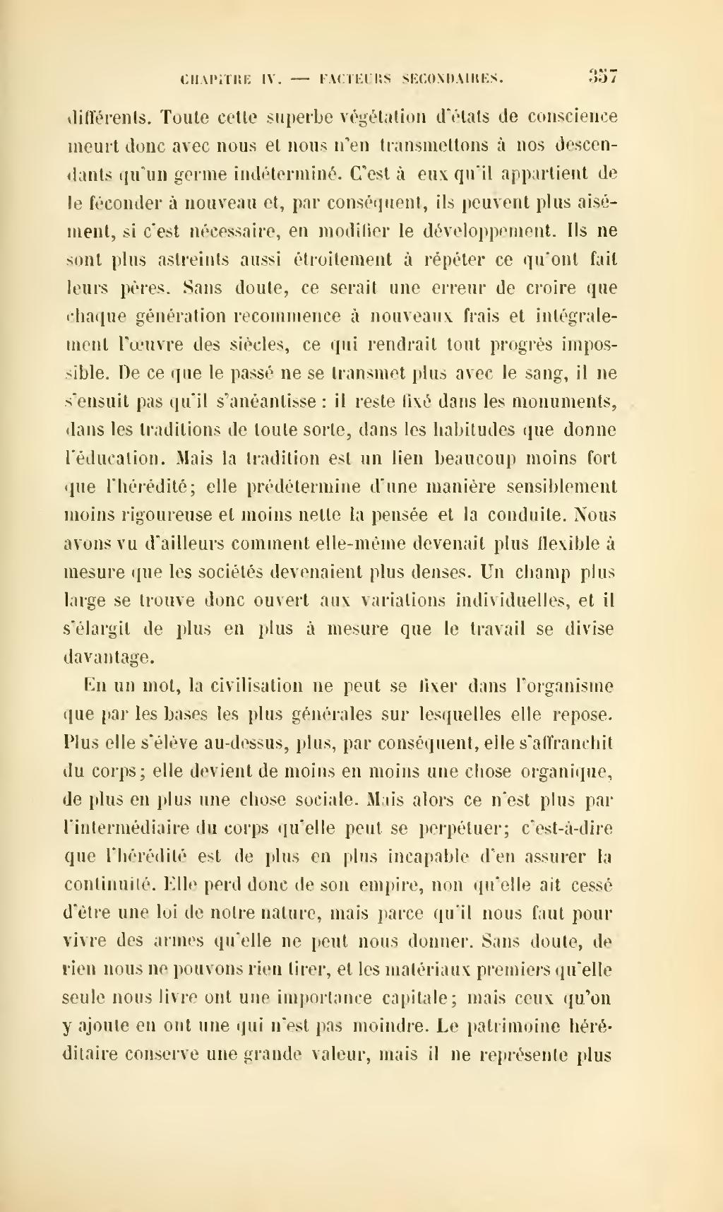 Page Durkheim De La Division Du Travail Social Djvu 379 Wikisource
