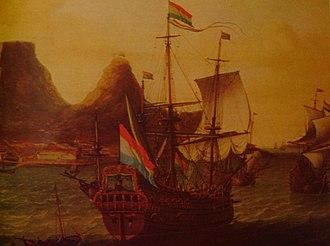 Table Bay - Image: Dutchshipsofftableba y