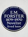 E.M. FORSTER 1879-1970 Novelist lived here.jpg
