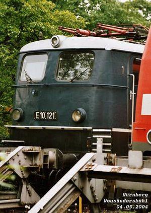 Standard electric locomotive - Heritage unit E10 121