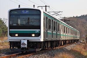 Mito Line - Image: E501 K752 in Mito Line