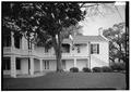 ELEVATION OF EAST WING FROM SOUTH - Fort Monroe, Quarters No. 1, 151 Bernard Road, Hampton, Hampton, VA HABS VA,28-HAMP,2A-3.tif