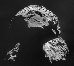 2014 in science - 6 August 2014: The Rosetta probe arrives at comet 67P.