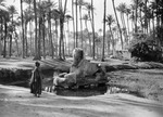 ETH-BIB-Alabaster Sphinx, Tempel des Ptah, Memphis, Ägypten-Kilimanjaroflug 1929-30-LBS MH02-07-0158.tif